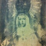 """Esperanza por Rodríguez Ojeda"" Técnica mixta sobre tabla. 30 x 22 cm. 2013."