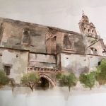 """San Miguel Jerez"" Acuarela sobre papel. 42 x 29 cm. 2014"
