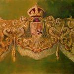 """Delantera Macarena"" Óleo sobre tabla. 60x120 cm. 2012."